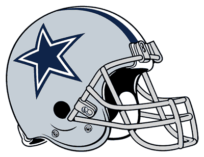 Dallas Cowboys' Helmet