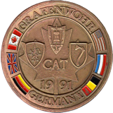 CAT 91 Coin