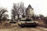 3-64 Armor M1A1 Platoon at Hohenfels (1987)