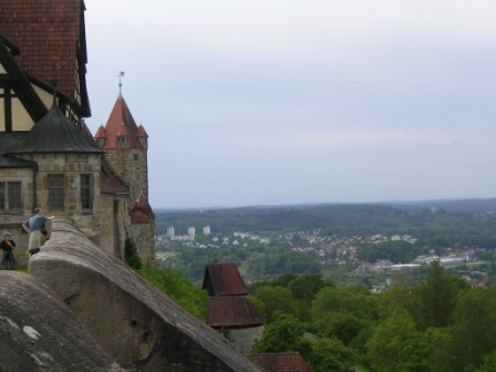 "A view from the ""High Bastion"" lookout point"